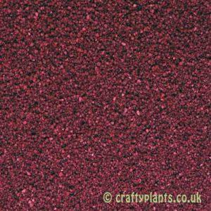 Burgundy sand 250g from craftyplants.co.uk