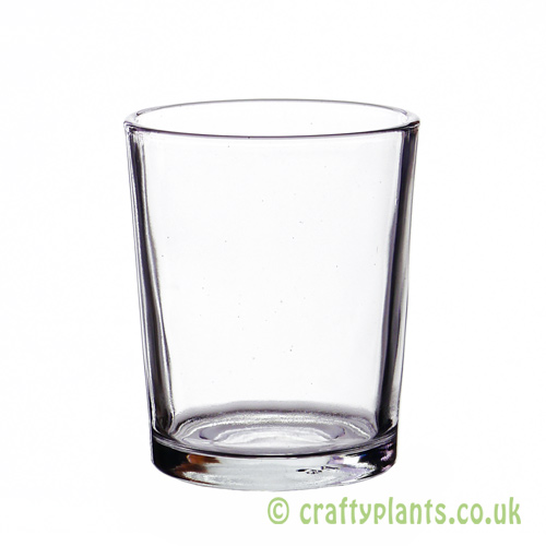 5.5cm glass pot by craftyplants